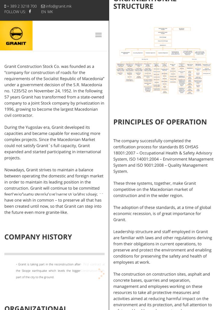Granit – Reform Solution Center